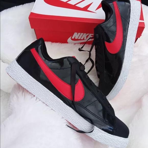 best service a24ae 054ab Nike blazer low black red women s shoes. NWT. Nike.  M 5bef0c98f63eea6fde34f84f. M 5bef0c9ebb7615a6c433c28f.  M 5bef0ca39519960aceef99e5